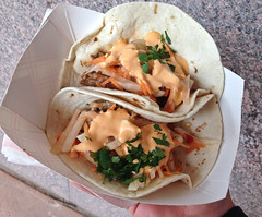Banh Mi Style Tacos at The Peached Tortilla Food T…