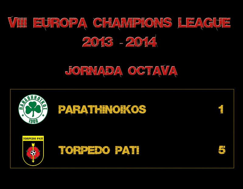 J08P PARATHINOIKOS 1-5 TORPEDO PATI
