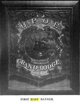 Elks Lodge No. 1/ Hotel Diplomat, NYC, NY (Elks Lodge No. 1 Coat of Arms)