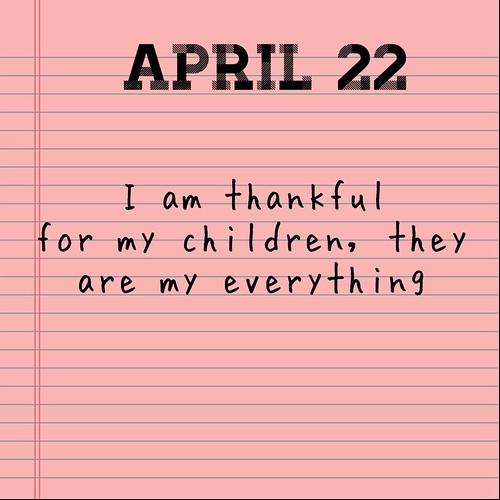 April Gratitude 22