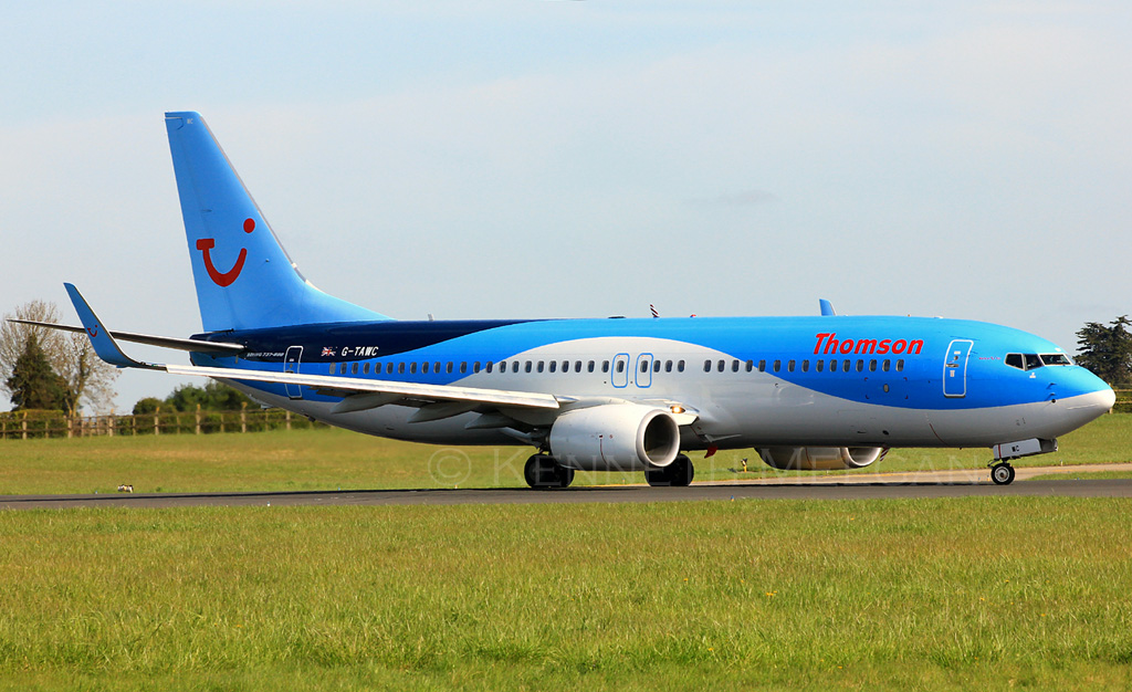 G-TAWC - B738 - TUI Airways