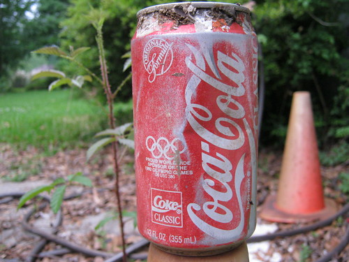 22-year-old Coke can