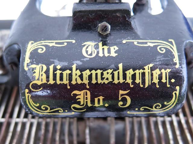 Blickensderfer No. 5