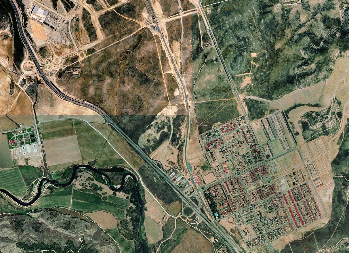 rivas-vaciamadrid, madrid, chaletes comunistas, antes, urbanismo, planeamiento, urbano, desastre, urbanístico, construcción