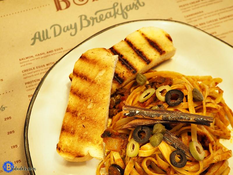 b and p tuyo pasta