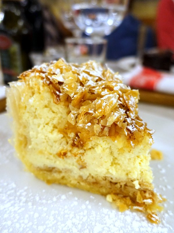 Remo's Liberta Cafe- Baklava Cheesecake R55