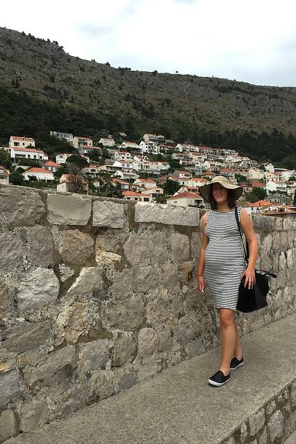 Pregnant in Dubrovnik