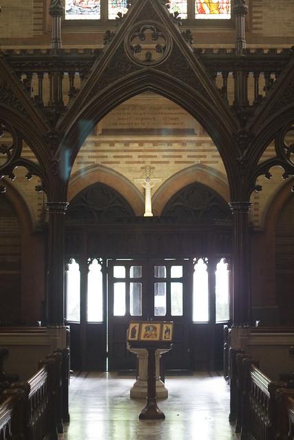 Albo in the Chapel of the Great Shepherd