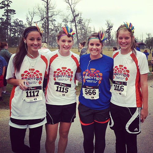 Turkey trot finished in 28 minutes. Making this a thanksgiving tradition, so fun!