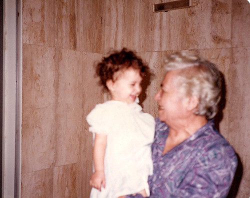 me and great-grandma