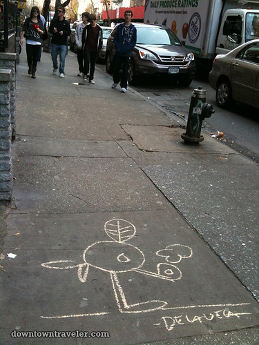De la Vega chalk art in East Village_5