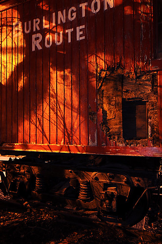 Day 318 - Red Caboose by Tim Bungert