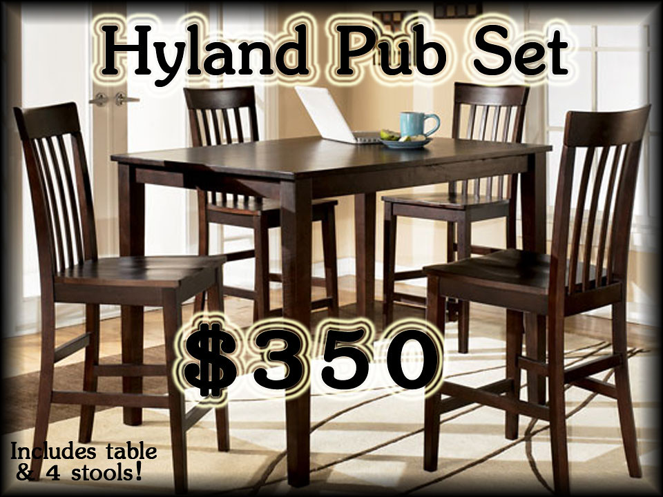 Hyland Counter  Height Dinette Set