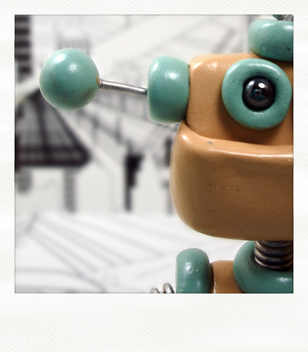 Sneak Peek | this robot is peeking at you by HerArtSheLoves