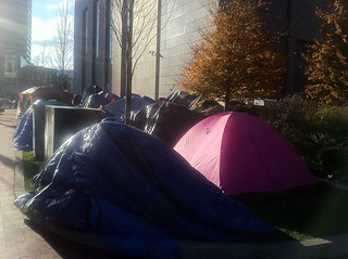 Boston - Occupy Boston - Tents