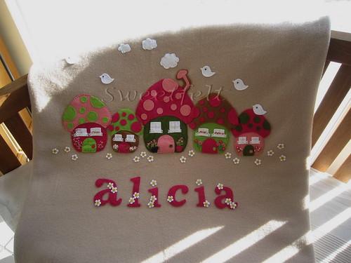 ♥♥♥ Alicia ... by sweetfelt \ ideias em feltro