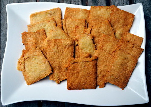 Cheddar Cheese Crackers (Gluten Free!)