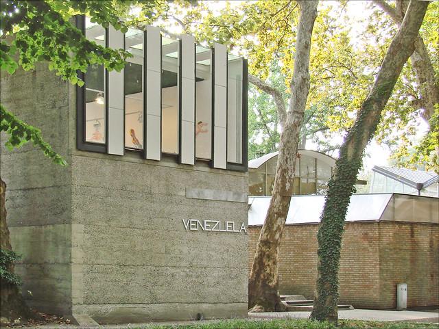 Pavillon Du V N Zuela Giardini Venise Flickr Photo