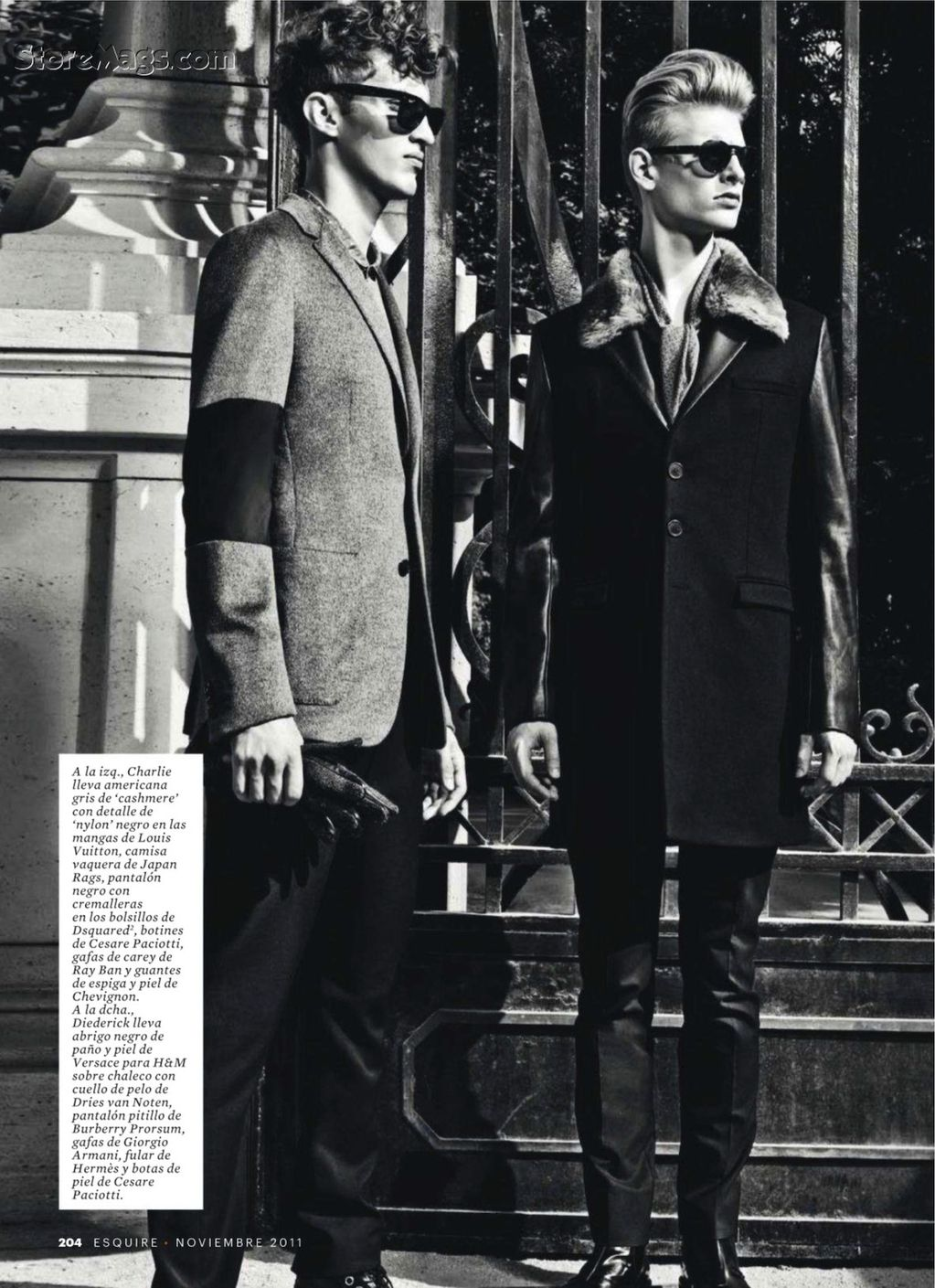 Esquire Spain December 2011_024Charlie France,Diederik Van der Lee(Flashbang@TFS)