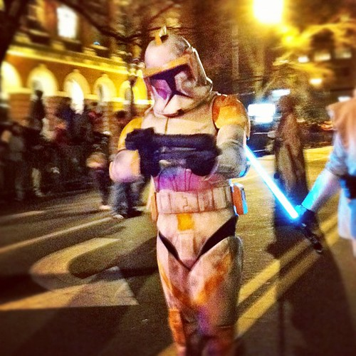 Athens Christmas Parade 2011 Star Wars
