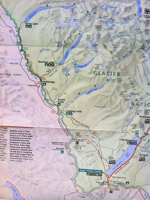 map Glacier NP