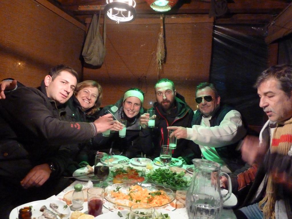 Sopar de germanor otomana a Ulaşlı (Turquia)