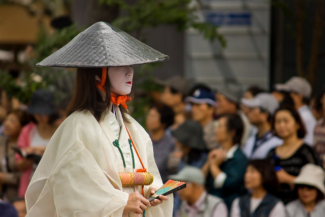 At the Jidai Matsuri