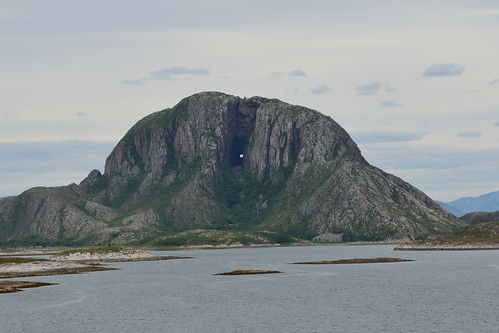 Torghatten Mountain, with the hole
