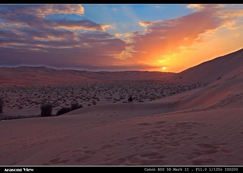 asia uae arabic 落日 沙漠 阿拉伯 阿布扎比