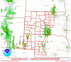Tornado Watch - May 24, 2010 - South Dakota - May 24, 2010