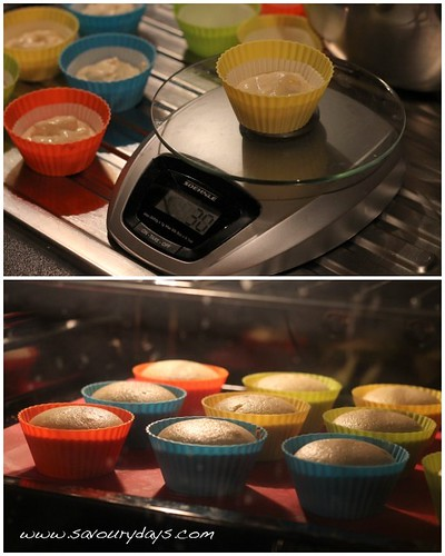 Yellow butter cupcake - Method 2