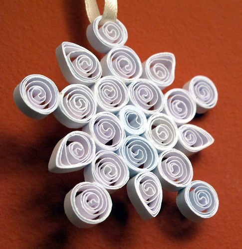 Quilled Snowflake - 5