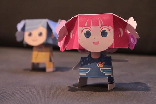 Little Paper Girls