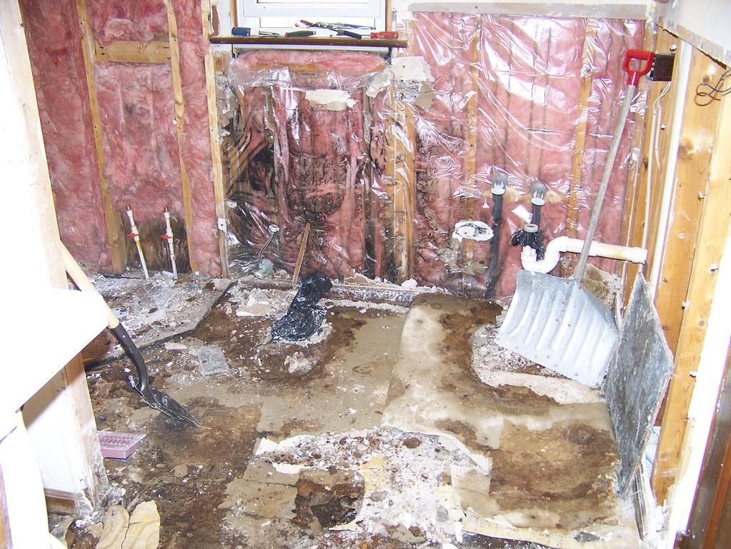 BATHROOM FLOOR REMODELING