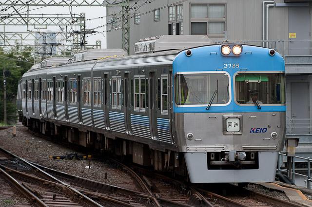 京王電鉄井の頭線 3000系 3028F ビデオ撮影回送列車 0820
