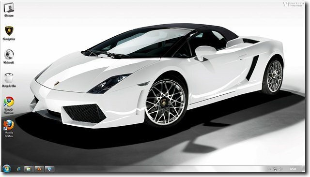 Download Lamborghini Windows 7 Theme