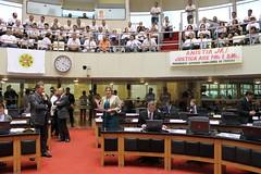 Assembleia Legislativa aprova anistia aos policiais e bombeiros militares
