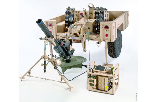 Mortar Fire Control System : Mortar fire control system dismounted flickr photo