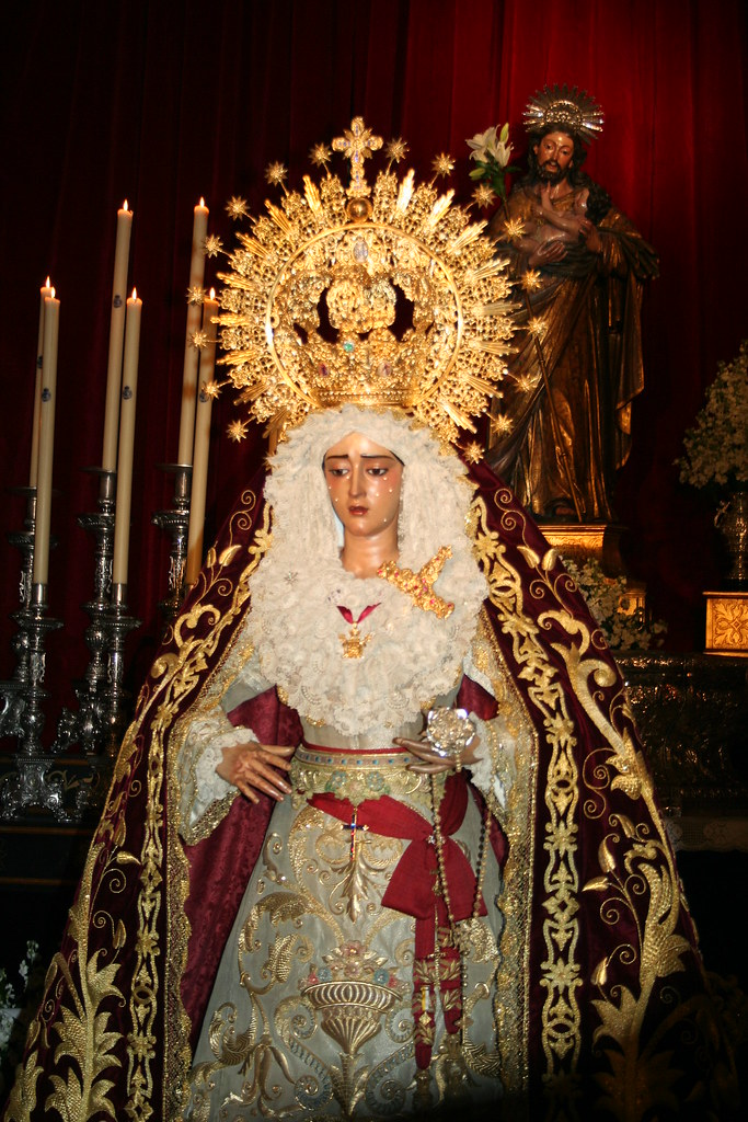 Besamanos Virgen de la Caridad en Su Soledad.3