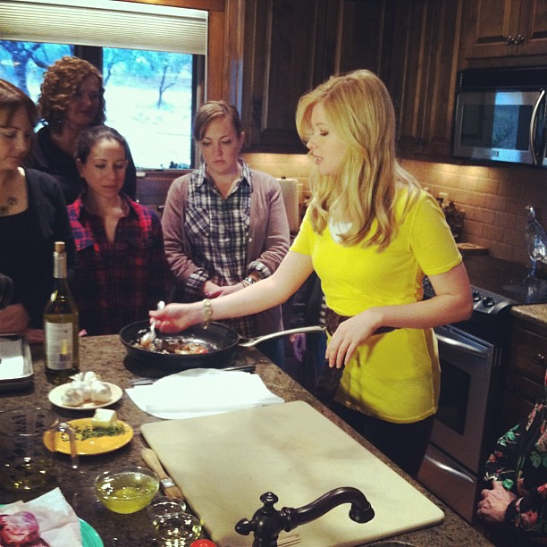Cooking with the Gals by Amy