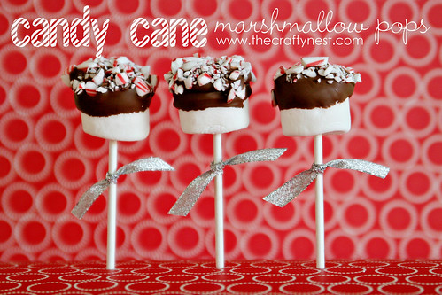 Candy Cane Marshmallow Pops Text
