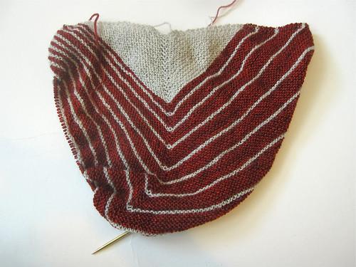 Tart Stripe Study Shawl