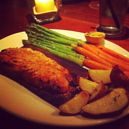 Salmon at Seasons52! Whoa!