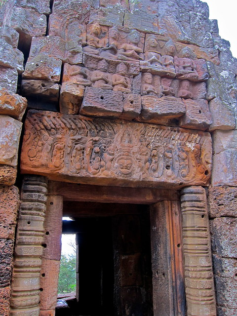Banaan Temple, Battambang, Cambodia