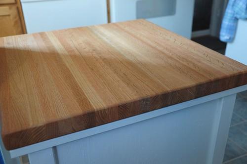 custom built cutting board
