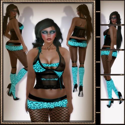 A&A Fashion Jealous Outfit Jaguar Ocean [TDR 44 extra]