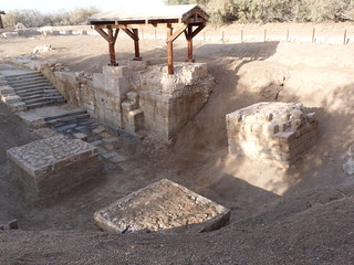 Aquí se bautizaba en el río Jordán