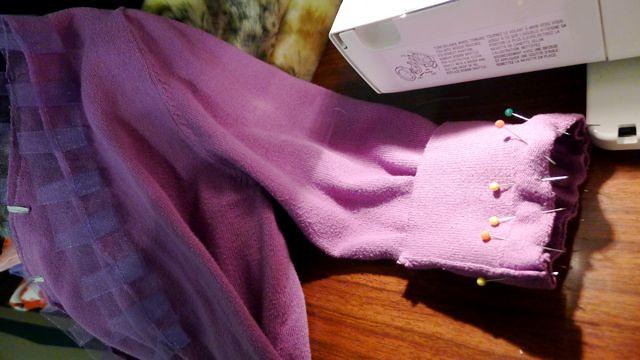Shortening Sleeves