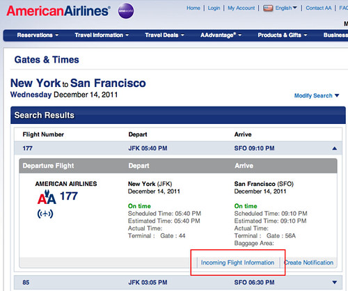 American Airlines Flight Status