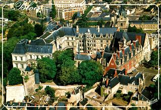Blois - Château from Air (Postcard)